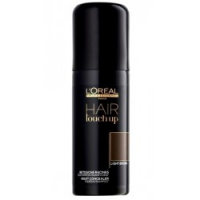 L'Oreal HAIR TOUCH UP LIGHT BROWN Spray maskujący odrost i siwe włosy 75 ml